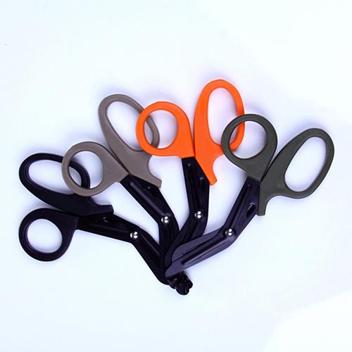 EMT Multifunction Emergency Rescue Bandage Scissor Trimmer With Saw Tooth Tool