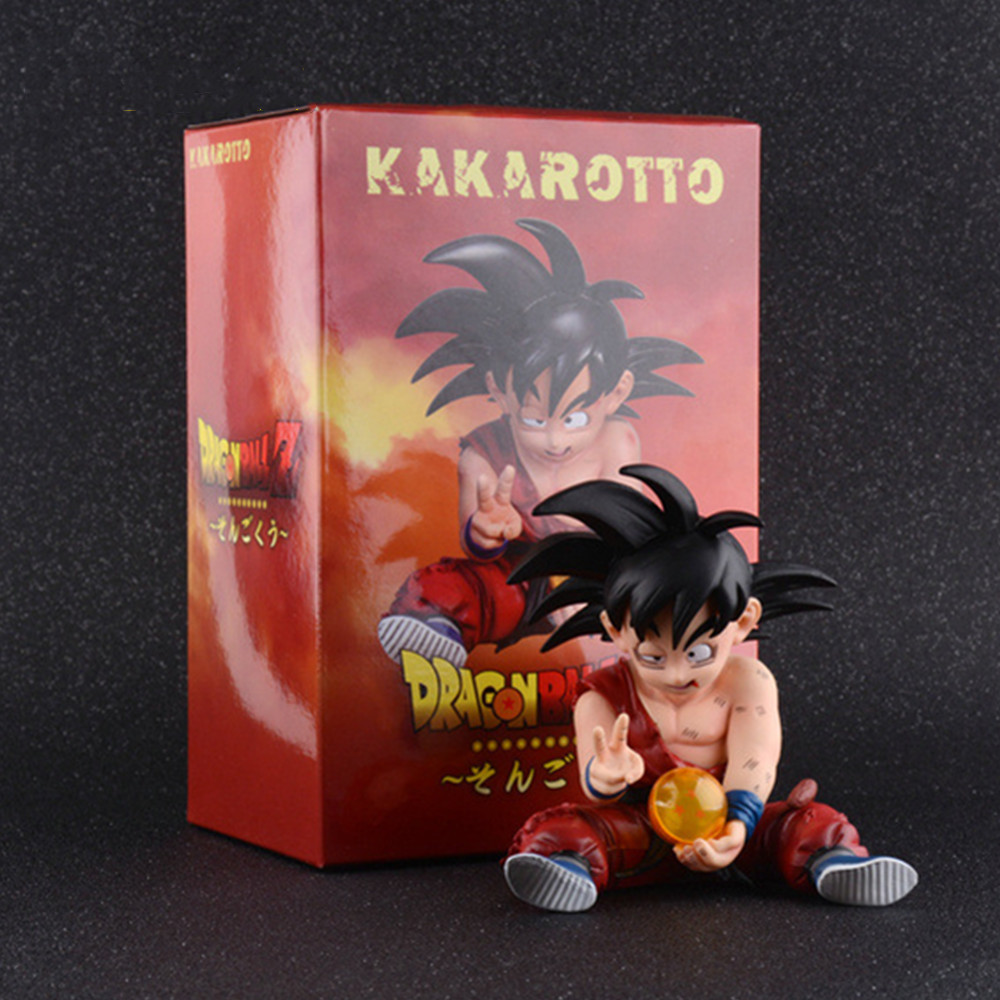 Dragon Ball Z Son Goku Anime <font><b>Figures</b></font> Doll PVC Action <font><b>Figure</b></font> Model <font><b>Dragonball</b></font> Brinquedos Goku Collectible Toys Kakarotto Juguetes image