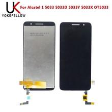 ЖК-дисплей для Alcatel 1 5033 5033D 5033Y 5033X OT5033 дигитайзер полный Ассамблея экран для
