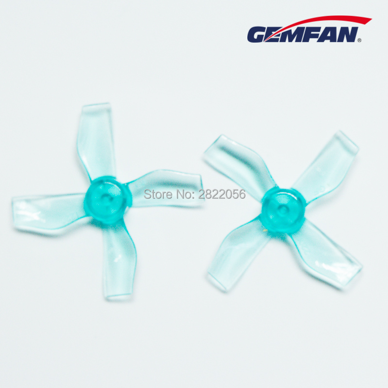 4Pairs 8pcs Gemfan <font><b>1220</b></font> 1.2x2.0x4 31mm Shaft 0.8mm Hollow cup brushless <font><b>motor</b></font> 4-Blade CCW/CW propeller RC Drone airplane parts image