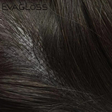 EVAGLOSS Männlichen Perücke Durable Injiziert Basis Haar Stück Natürliche Indische Haar Männer Toupet Injection Perücke Männlichen Haar Prothese