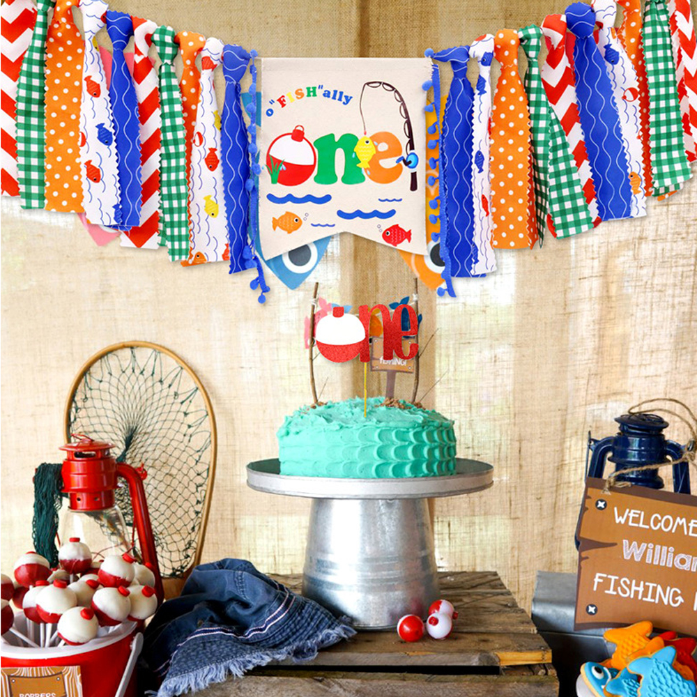 Baby Toy Birthday Party Banner Educational Toys For Children Party Photograph Flag Decorative Tools Quiet Fabric Montessori Toy