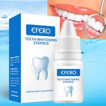 EFERO zęby serum wybielające żel Dental higiena jamy ustnej skuteczne usuwanie plamy tablica czyszczenie zębów esencja opieka stomatologiczna pasty do zębów tanie tanio 1PCS HU3R11 Wybielanie zębów Teeth Whitening Essence Umiarkowane White Teeth System Removes Plaque Stains teeth whitening kit
