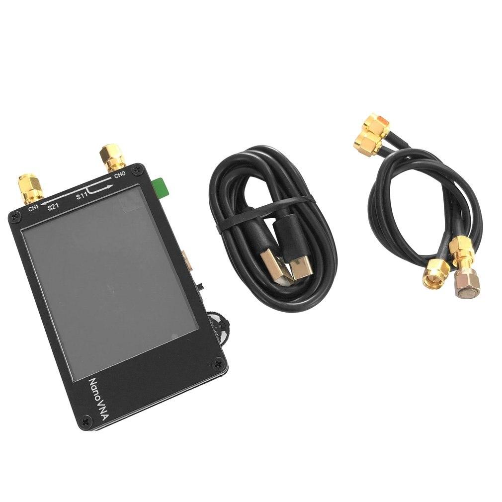 50 KHz-900 MHz Kit MF HF VHF UHF Antena Vector Network Analyzer 2.8 Polegada Tela Sensível Ao Toque Ferramentas de Análise