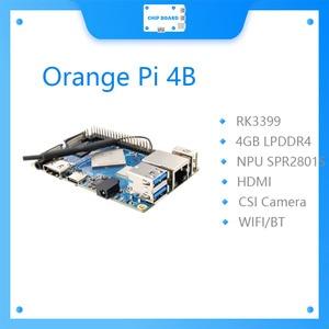 Orange Pi 4 4GB DDR4 Rockchip RK3399 Dual-coreCortex-A72+Quad-core Cortex-A53 Development BoardSupport Android,ubuntu