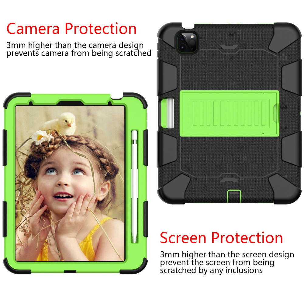 Hybird for Air 2020 PC 10.9 4 Kids Case inch Heavy Tablet Duty Shockproof iPad Rugged