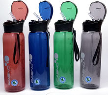 600ml Sports Water Bottle with Straw Large Capacity Outdoor Sport Bottles Portable My Travel Tour BPA FREE H1202
