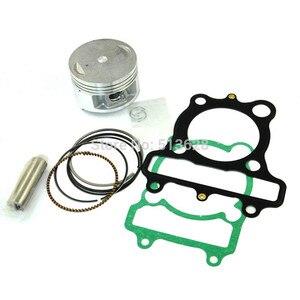 Image 1 - 70mm Standard Bore Motorcycle Piston Kits Ring Pin Clips & Cylinder Gasket Set For Yamaha XT225 XT 225 Serow