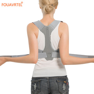 Image 5 - Fouavrtel 調整可能なバック姿勢コレクター鎖骨背骨バックショルダーサポートベルト疼痛緩和バック姿勢補正ユニセックス