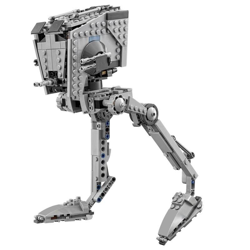 En Stock série 05066 le Rogue One At-st Walker ensemble briques éducatives jouets compatibles avec les blocs de construction Star Wars 05066