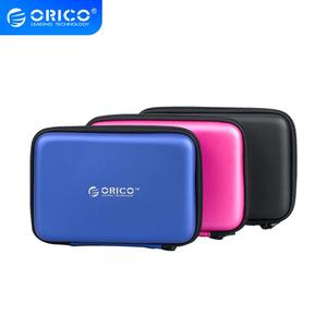 """ORICO PHB-25 2.5"""" 2.5 Inch Protection Bag for External Portable HDD Box Case-Blue/Black/Pink(China)"""