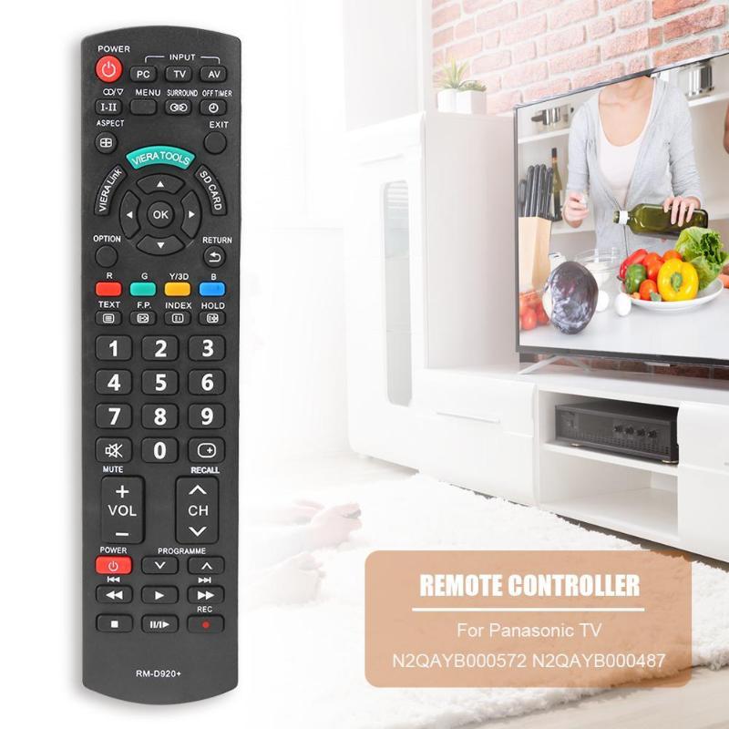 Smart TV Remote Control for Panasonic N2QAYB000572 N2QAYB000487 EUR7628030 for Panasonic Smart TV
