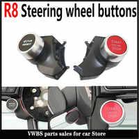 Botón de inicio y parada del motor R8, interruptor de modo de conducción para volante deportivo V W MQB