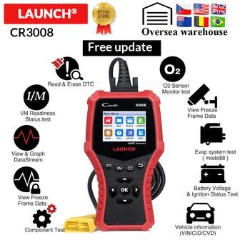 Lancement X431 CR3008 OBD2 scanner autom