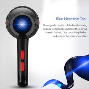 Image 3 - Professionele Sterke Power Föhn Voor Kappers Kapper Salon Tool Blow Dryer 220 240V Haardroger Met Blauw Negatieve ion 40D