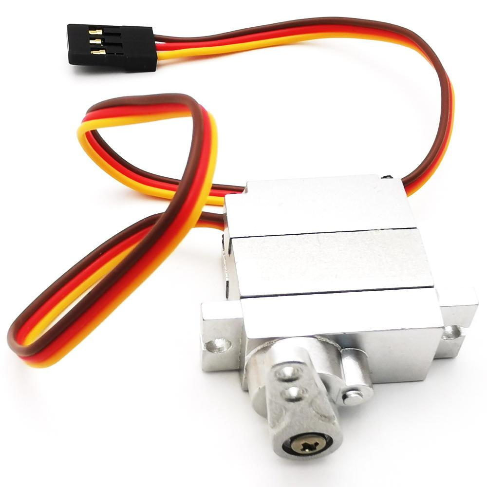 RCtown RBR/C 9g All Metal Servo For WPL B1 B16 B24 B36 C1 C24 C34 <font><b>JJRC</b></font> Q60 <font><b>Q61</b></font> Q65 MN 90 99 RC Car <font><b>Parts</b></font> image
