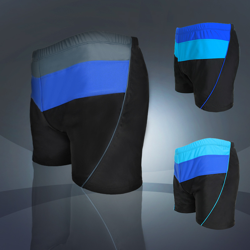Swimming Trunks BOY'S Anti-Awkward Boxer Quick-Dry Bathing Suit Loose-Fit Swimming Trunks Men-Style Swimming Equipment BOY'S Set