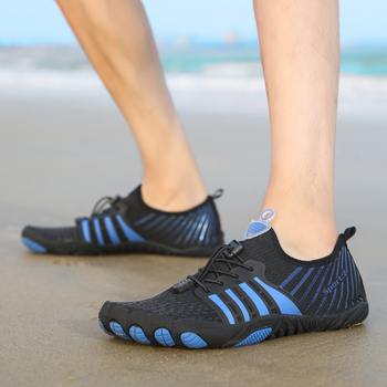 Męskie outdoorowe szybkoschnące sportowe odporne na zużycie plażowe trampki Unisex buty do wody oddychające buty wędkarskie damskie Upstream buty antypoślizgowe tanie i dobre opinie MAIJION CN (pochodzenie) Dobrze pasuje do rozmiaru wybierz swój normalny rozmiar Spring2019 elastyczna opaska Początkujący