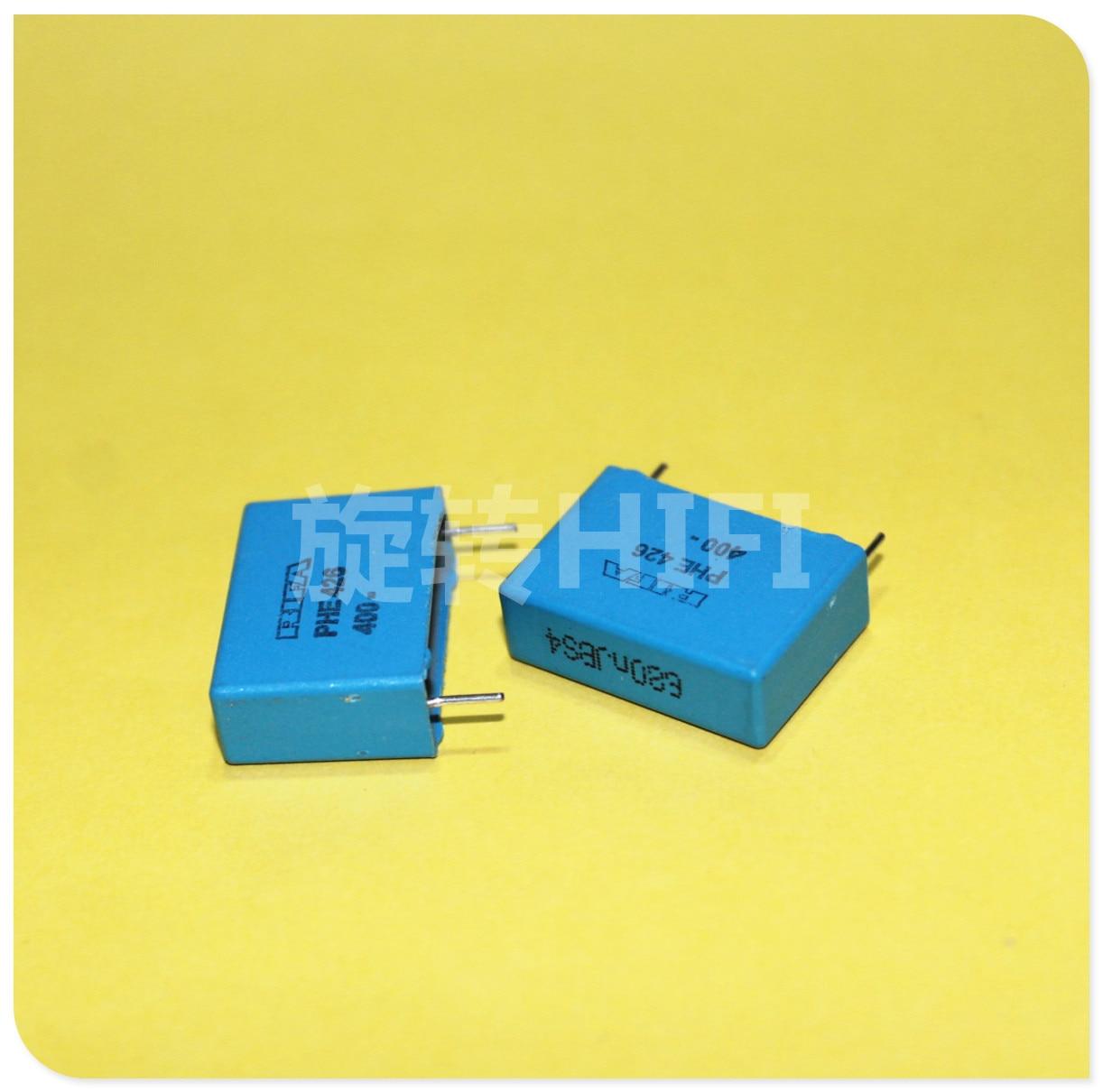 6PCS RIFA PHE426 0.68UF 400V P22.5MM MKP 684/400V Audio Blue Film Capacitor 426 0.68uf/400v 680NF 684