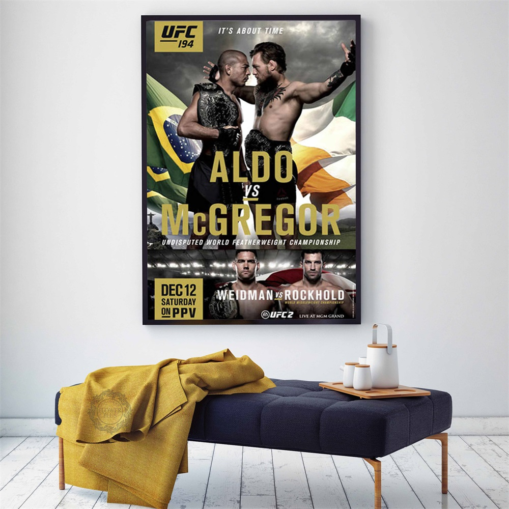 Conor McGregor Poster U FC Motivational BOXING Sport Posters and Prints Wall Art Picture Canvas Painting Decor quadro cuadros image