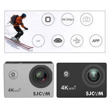 2020NEW SJCAM SJ4000 אוויר פעולה מצלמה מלאה HD Allwinner 4K 30FPS WIFI 2.0 מסך עמיד למים ספורט מיני קסדה רכב DV מצלמה