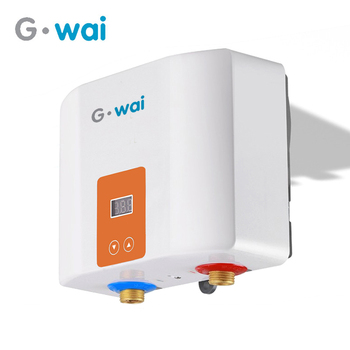 5500W Electric Tankless Water Heater Wall Mounted Thermostat Instant Heating Instant Heater Kitchen Bathroom Calentador De Agua