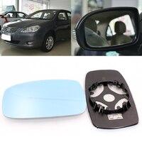 Para byd f3 f3r g3 porta de visão lateral do carro grande-angular espelho retrovisor vidro azul com base aquecida 2 peças