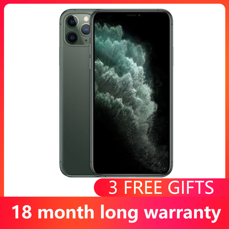 Used Unlocked Original iPhone 11Pro 1 Sim Card 5.8 inch Super AMOLED Display A13 Chipset IOS 13 Smart Phone