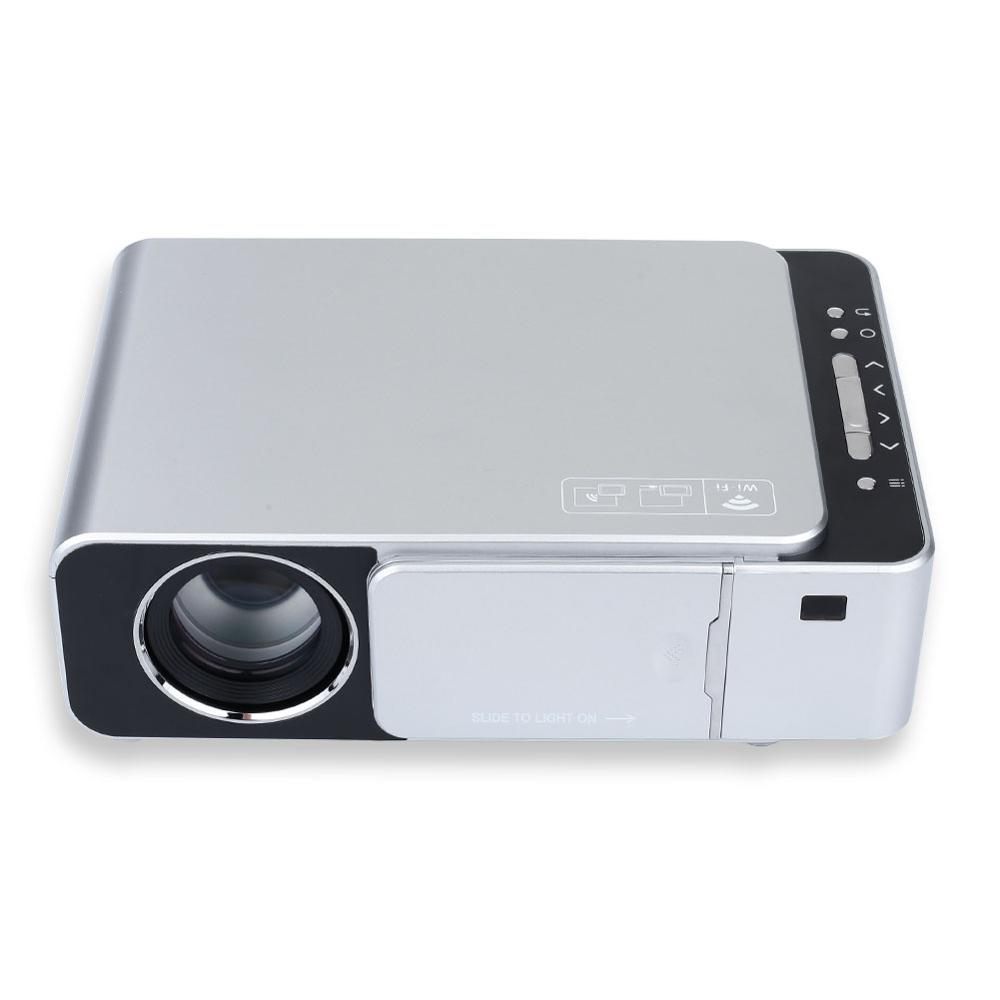 D40W supports 1920*1080 playback Physical resolution 800x480P Home 3D projector Micro-projection bombardment LED for Home Cinema image