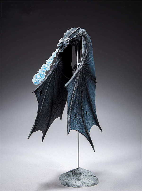 Game Of Thrones Viserion Ice Dragon McFARLANE Deluxe Figure Collective Toys