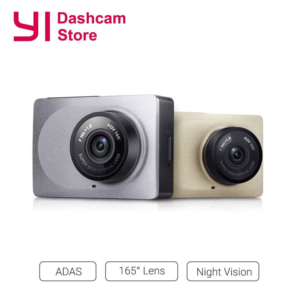 Yi câmera de traço inteligente gravador vídeo wifi hd completa dvr carro cam visão noturna 1080 p 2.7