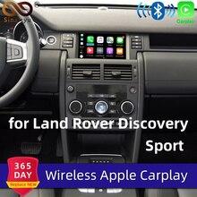 Sinairyu ワイヤレス Apple Carplay ランドローバー/ジャガーディスカバリースポーツ F ペースディスカバリー 5 Android の自動ミラー Wifi iOS13 車再生