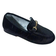 Hot Boys Girls Velvet Loafer Best Sell New 2019 Winter Warm Kids Buckle Shoes Size 21-35 Flat (Choose According To Foot Length) cheap CMSOLO Rubber Unisex