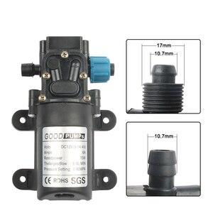 Image 3 - Pompe à eau à membrane haute pression, 0,9 mpa, 6l/min, 12v, 24v, 70W, 0,9 mpa
