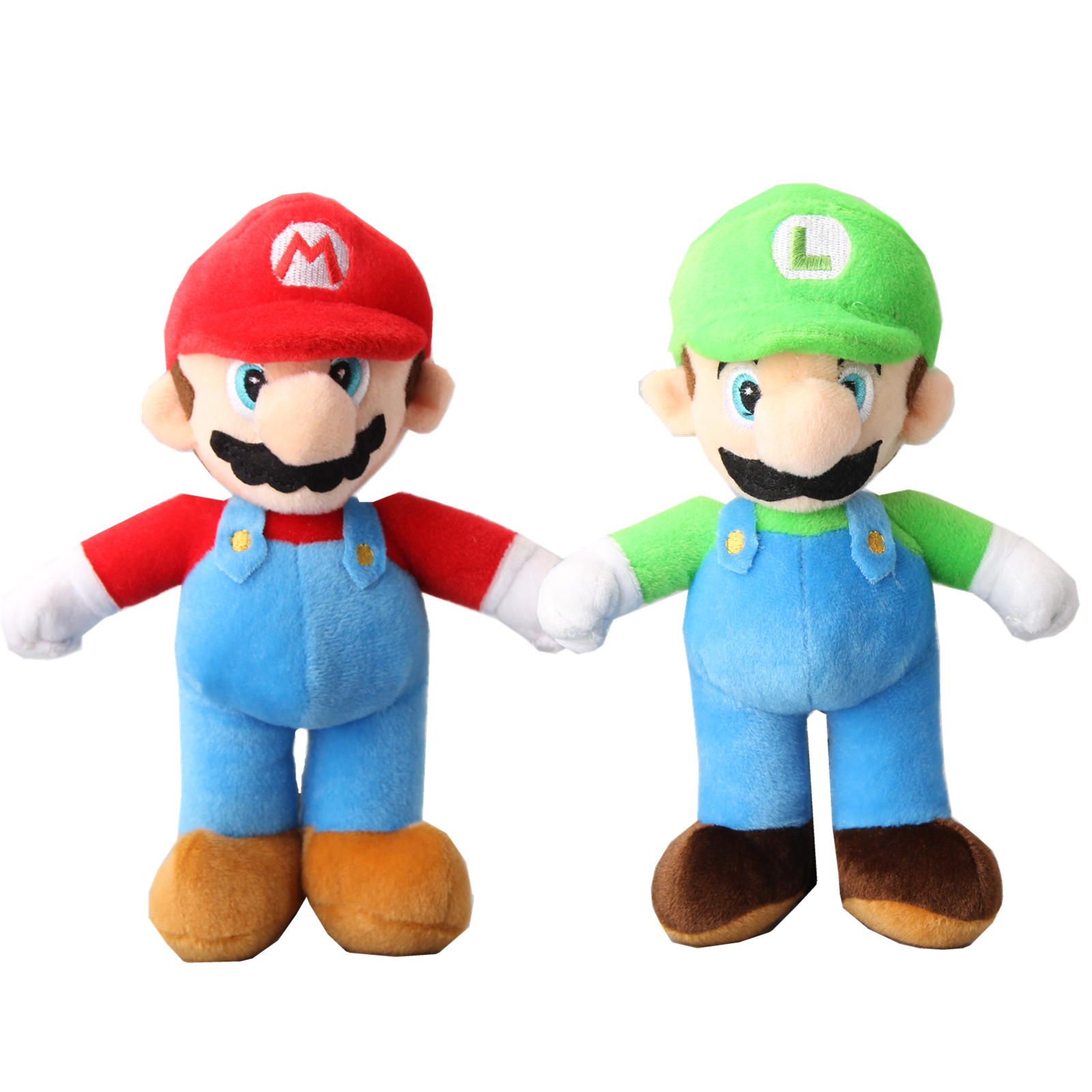 25cm Mario Series Plush Dolls Toys Classic Game Characters Mario