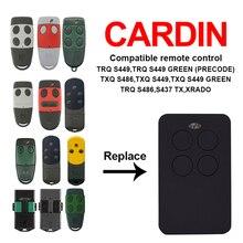 Mando a distancia clon CARDIN S435 S449 S486 para puerta de garaje, CARDIN TRQ TXQ, copia de mando a distancia