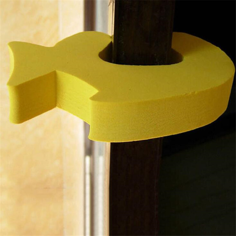 1PC Multifunction Security Card Lock Protect Baby Safe Cute Animal Safety Door Stopper Foam Baby Card Lock Newborn Finger