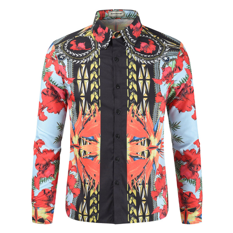 Men 3D Print Fashion High-quality Comfortable Shirt Dropshipping Hot Sale Shirts Nightclub Dance Cool Cloth Plus Size