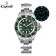 Cronos Watch Automatic Diving Stainless Steel 1000M Water Resistance Professional Diver Mechanical WristWatch Men NH35 Movement