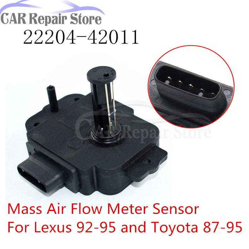 LEXUS LS400 SC300 SC400 GS300 SUPRA MK3 MK4 MASS AIR FLOW METER SENSOR 7MGTE 87