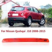 CAPQX Für Nissan Qashqai J10 2008-2015 Bremse Hinten Licht High Mount Stop Lampe Center Zusätzliche LED 3rd Dritte bremse Licht