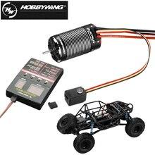 HobbyWing QuicRun Fusion 540 1200KV/1800KV Bürstenlosen Sensorischen Motor Gebaut In 40A ESC für RC 1/10 Klettern Auto (2 In 1)