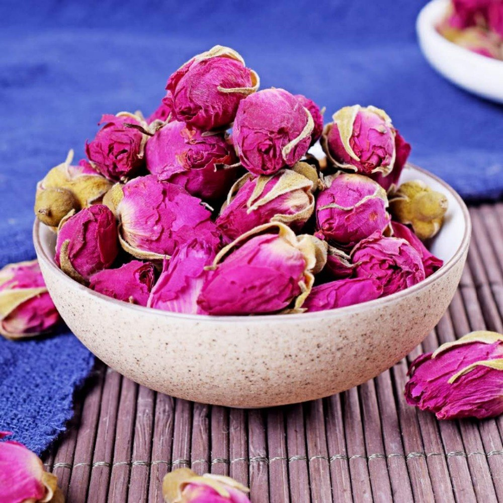 Natural Roses Flower Tea Chinese Organic Red Rose Dried Flowers Buds