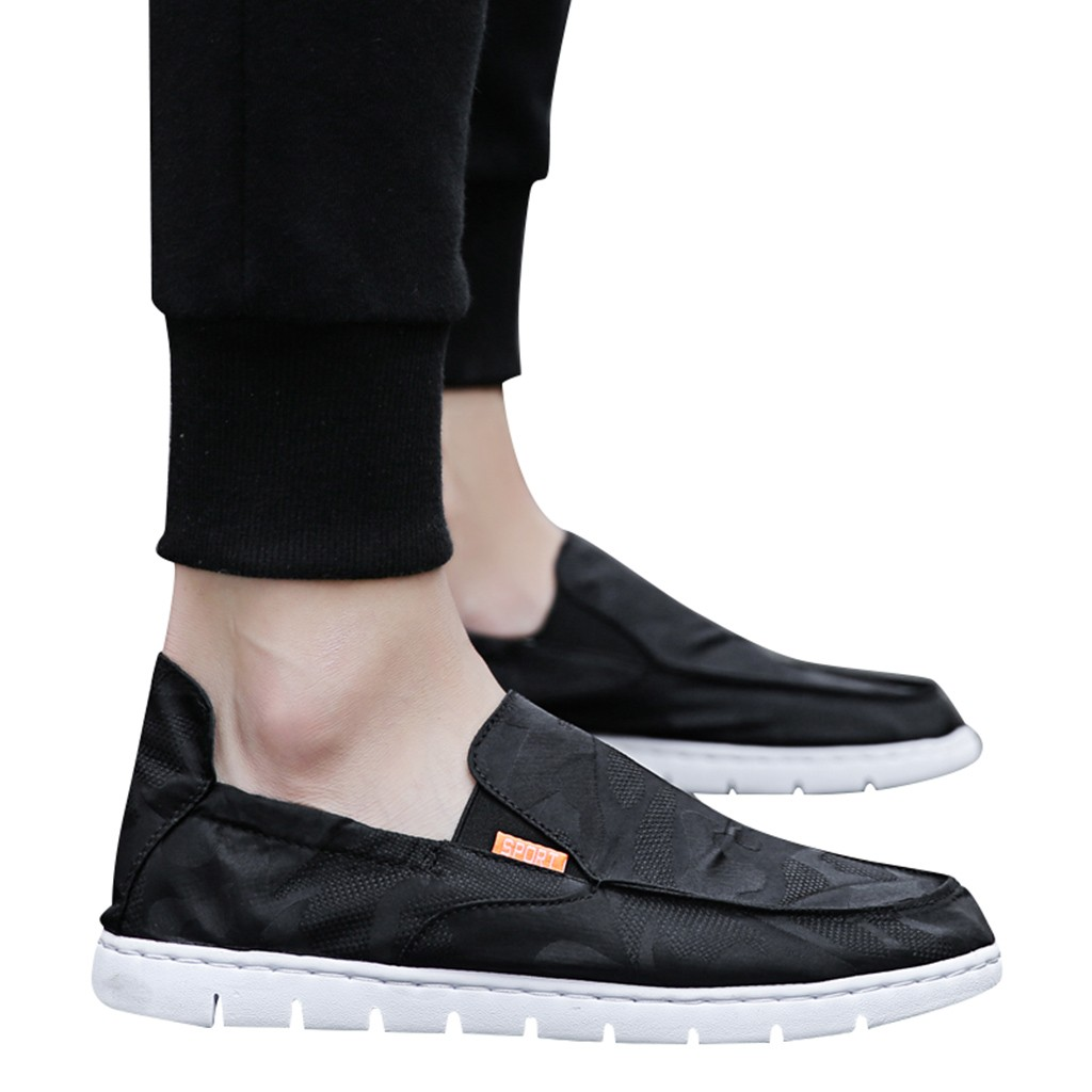 Chinese Style <font><b>Men</b></font> Mesh Breathable Casual <font><b>Sneakers</b></font> <font><b>Fashion</b></font> <font><b>Trend</b></font> Slip On <font><b>Men</b></font> Shoes Sport Mens Shoes Hot Sale <font><b>2019</b></font> image