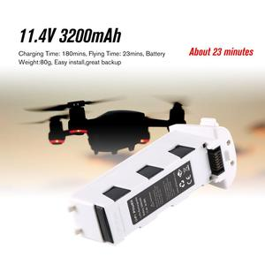 H117S Zino GPS RC Drone Aircraft Spare Parts 11.4V 3200mAh Intelligent Flight Battery For RC FPV Racing Camera Drone