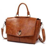 100% echtem Leder Tasche frauen Handtaschen Büro Damen Schulter Messenger Taschen damen messenger hand taschen für frauen 2019 K25