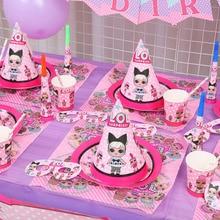 Birthday Party LOls dolls surprise DIY theme Decoration Supplies Holida