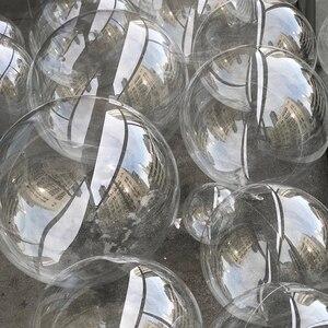 Image 5 - 100 個 24 インチバルーンラウンドバブルヘリウム風船子供の結婚式の装飾の休日