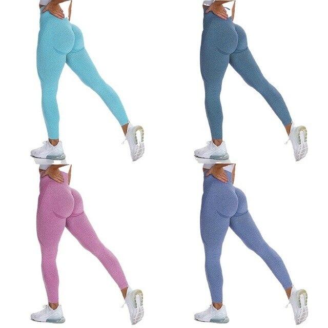 New Vital Seamless Leggings for Women Workout Gym Legging High Waist Fitness Yoga Pants Butt Booty Legging Sports Leggings 2