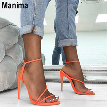 2020 new summer women's shoes fashion gladiator high heels female open toe sandals women bag with sexy ultra high heel women 2020 summer fashion sandals s shoes high heels 5cm sexy shoes with heel buckle open toe profiled heel women spike heels rubber